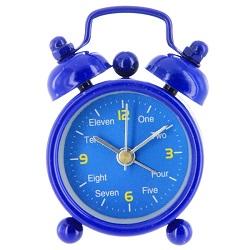 Синий будильник алиэкспресс