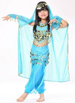 детский костюм belly dance