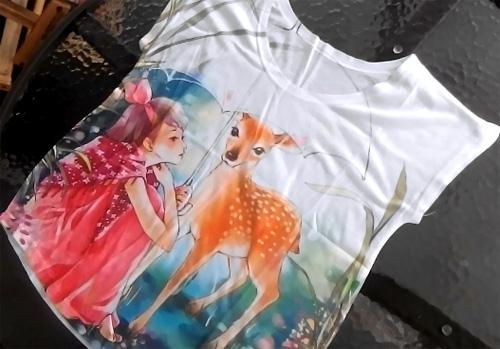футболка с али